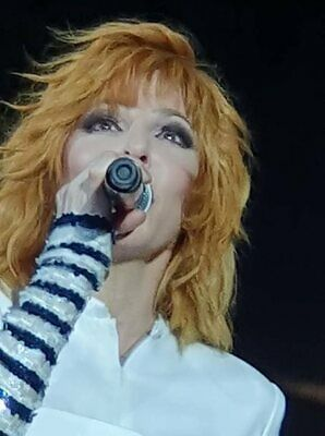 1133 photo 10*15cm 4x6 INCH MYLENE FARMER