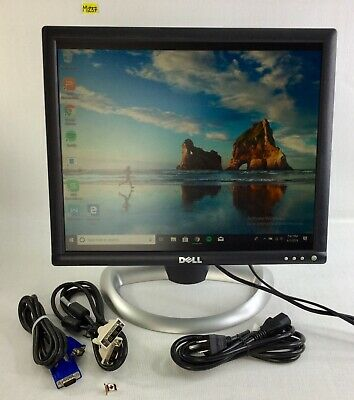 "Dell 17/"" E177FPB  LCD Monitor Model W// Stand AND POWER CORD"