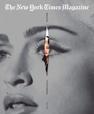MADONNA Sunday New York Times Magazine 6/9/2019 MADAME X MINT RARE