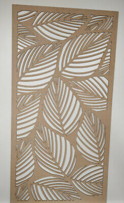 Radiator Cabinet decor. Screening Perforated 3mm & 6mm thick MDF laser cutL9