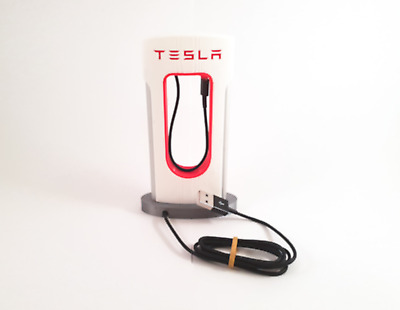 Tesla Phone Charger  IPHONE CABLE INCLUDED!