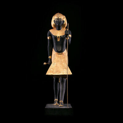 Ancient Egyptian Guardian Statue of Tutankhamen Tutankhamun Museum Replica art