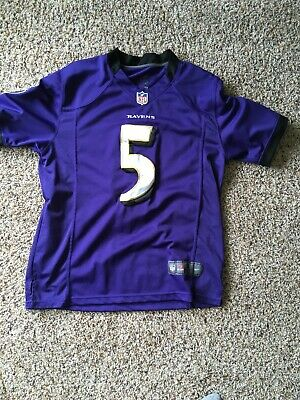 ff87831a Baltimore Ravens Joe Flacco #5 Football Jersey Purple NFL Reebok Men's S  Nike