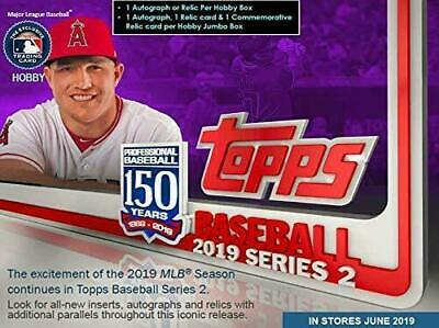 2019 Topps Seattle Mariners Series 2 Team Set, 7 Cards