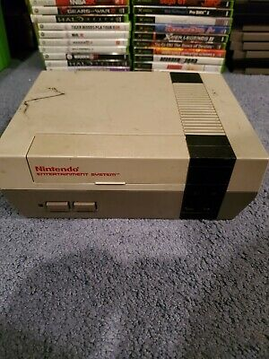 Nintendo Entertainment System NES Console Only AS-IS Untested