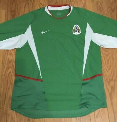 deb6113c8 Nike Javier Hernandez Chicharito Mexico National Team Jersey #14 Size Large