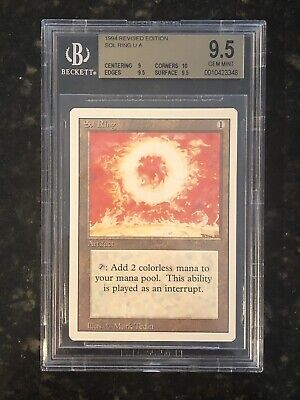 1 PLAYED Sol Ring Artifact Revised 3rd Edition Mtg Magic Uncommon 1x x1