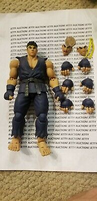 blufin storm collectibles STREET FIGHTER 2 II 5 V blue yellow ryu SPECIAL ED