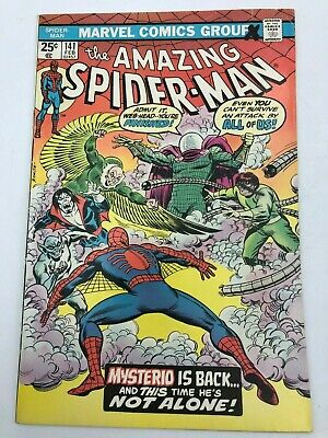 Amazing Spider-Man Feb #141 (1975) Marvel Comic Book 1st App Mysterio