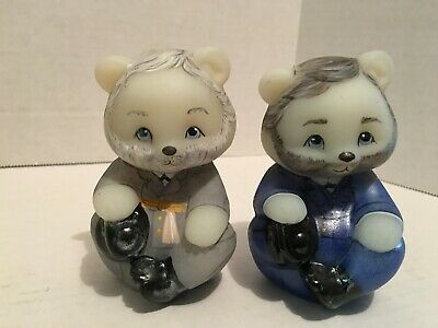Fenton 5151 Civil War Generals Confederate and Union Grant and Lee Bears NIL