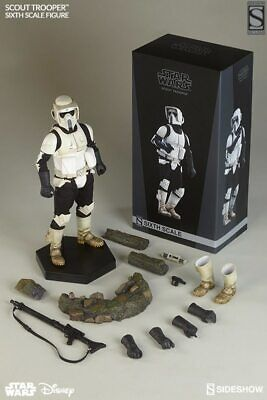 Sideshow Star Wars Episode VI Scout Trooper 1/6 Scale Figure Exclusive NEW