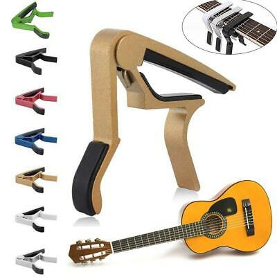 Colors Quick Change 6-String Acoustic Electric Guitar Capo Trigger Clamp Part BN