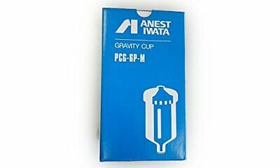 Anest Iwata PCG-6P-M Plastic Gravity Cup 600ml for W-40 From japan