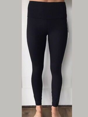 0a3265878b Lululemon Size 10 Wunder Under HR 7/8 Tight Black BLK Luon Hi Rise Pant