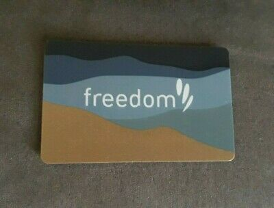 Freedom Giftcard $75 value Expiry 04/22