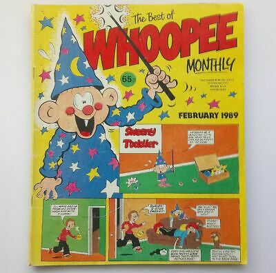 The Best of Whoopee Monthly February 1989 Childrens Kids Humour Comic  UK