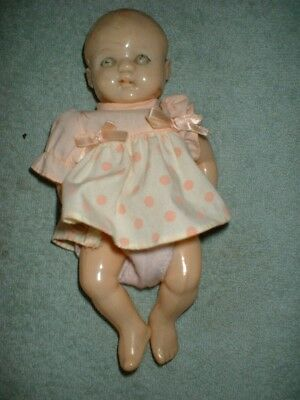 Roddy England Hard Plastic Celluloid Small Doll Vintage Retro