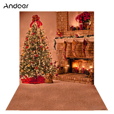 Andoer 1.5 * 2m Photography Background Backdrop Digital Printing Christmas Q6W6