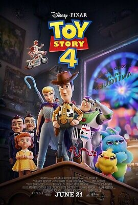 Toy Story 4 Movie Poster (2019) - NEW - 11x17 13x19 - Made in USA