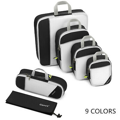 Gonex Cube Travel Clothes Storage Bags Luggage Organizer Pouch Packing Set