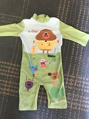 Hey Duggee Swimming Costume Uv Protective Sun Suit 18-24 Months