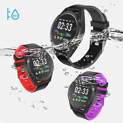 S9 SMART WATCH Blood Pressure Heart Rate Monitor Pedometer