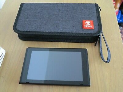 Nintendo switch console unit ONLY *NEW* + official carry case