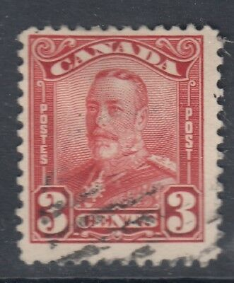 "Canada Scott #151  3 cent dark carmine ""Scroll""  F  **"