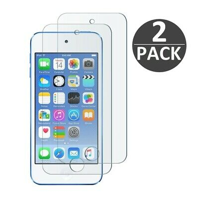 (2 Pack) Tempered Glass Screen Protector For iPod Touch 7th Gen / 7th Generation