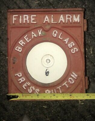 Antique Cast Iron Fire Alarm, Repurpose As A Cool Door Bell