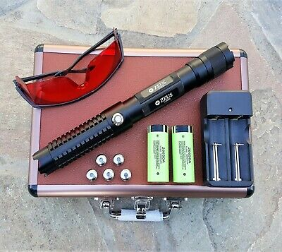 Powerful Blue Laser Pointer 1mW Focusable Beam 445nm Wicked High Power Lazer