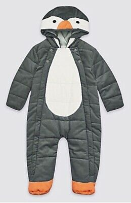 f5e796366 BABY ALL IN One Penguin Suit-Pram Suit (Next) Never Used 0-3 Months ...