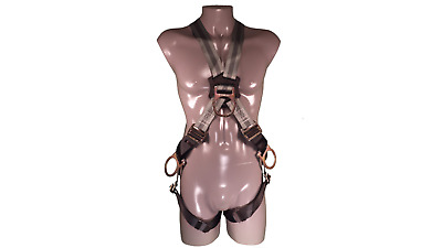 Fall Protection Harness Front Loop Cross-Over Strap with Dorsal D-Ring
