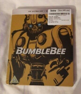 Bumblebee Limited Edition 4K Steelbook (4K Ultra HD + Blu-ray) [UHD]