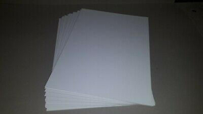 35 Sheets A4 1250 Micron.  Display / Mount Board - Inglevale