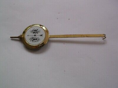 A  Pendulum From An Old Small Highlands    Wall Clock  33G Ref Her 1