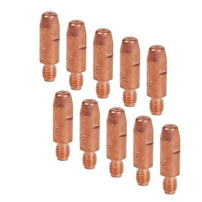 M6 (6mm) MIG Welding Contact Tips for MB25 or MB36 Torch - (Pack of 10) - 0.9mm