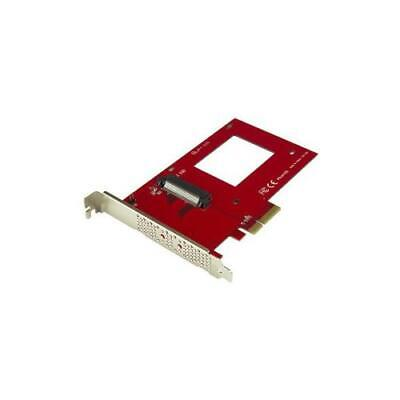 """StarTech U.2 To PCIe Adapter For 2.5"""" NVMe SSD SFF-8639 X4 PCI Express 3.0"""