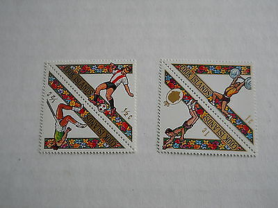 Postage Stamps Set Of 4  Cook Islands 1969 Pacific Games