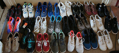 23  trainers nike air trainers air max air force 1 in good condition  joblot