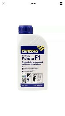 NEW Fernox F1 Central Heating Inhibitor & Protector 500ml UK SELLER, FREEPOST