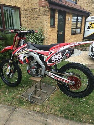 Honda CRF 250R 2016 full spec Evotech bike immaculate condition
