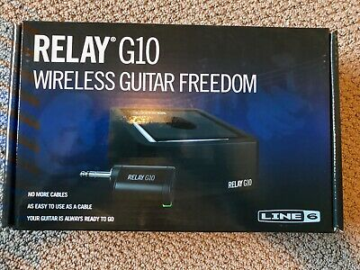Line 6 Relay G10 Digital Wireless Guitar System