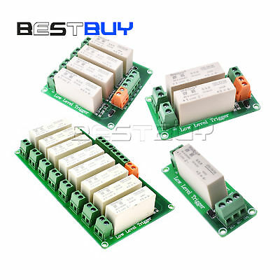 4 Channel SSR Solid State Relay High-low Trigger 5A 3-32V For Arduino UNO I8P2
