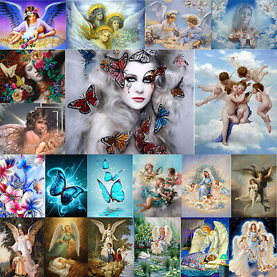 5D DIY Full Drill Diamond Painting Angel Beauty Cross Stitch Embroidery Kits Art