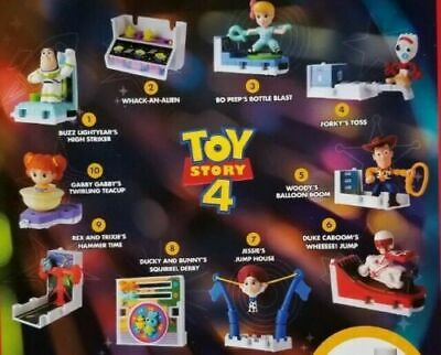 2019 McDONALD'S DISNEY TOY STORY 4 HAPPY MEAL TOYS! PICK YOUR FAVORITE TOY!!!