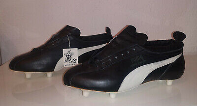 VINTAGE PUMA KING EUSEBIO Fussballschuhe world cup Mexico 1970 soccer shoes UK10