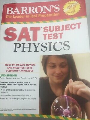 BARRON'S SAT SUBJECT Test Literature 6th Edition by Christina Myers