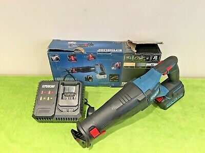 Erbauer ERS18-Li 18V Li-Ion EXT Brushless Reciprocating Saw  + BATTERY & CHARGER