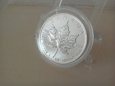 2011 1oz Silver Canadian Maple Leaf 5 Dollar Coin - Last One Available!!